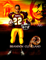 Brandon Cleveland rookie card