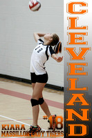 7th Grade Massillon Lady Tigers Volleyball Team Photographs 2014