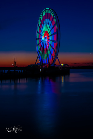 ©M Cleve Photography DSC02288 National Harbor Sunset